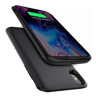 Capa Case Bateria Recarregável Tpu Para iPhone 6 7 8 Plus