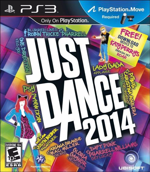 Jogo Game Just Dance 2014 Física Original Lacrado Ps3