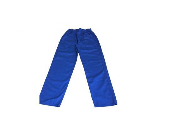 Calças Em Brim Azul L (35uni) Uniforme Profissional