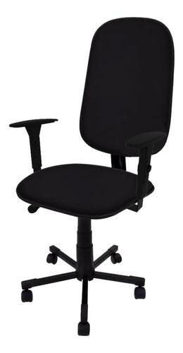 Cadeira Presidente Giratória C/ Lamina E Braço Regulavel