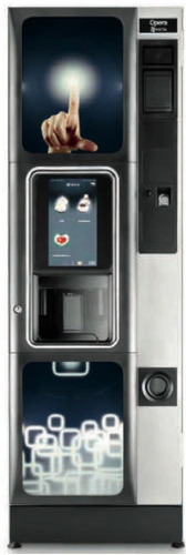 Imagen 1 de 10 de Dispensadora Vending Bebidas Calientes - Ópera Necta Touch