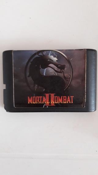 Cartucho Mortal Kombat 2 - Sega Mega Drive