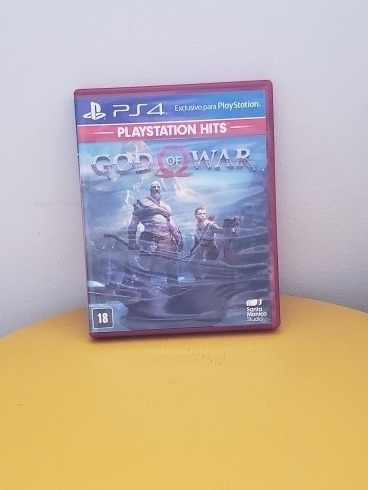 God Of War 4 Ps4 Midia Fisica