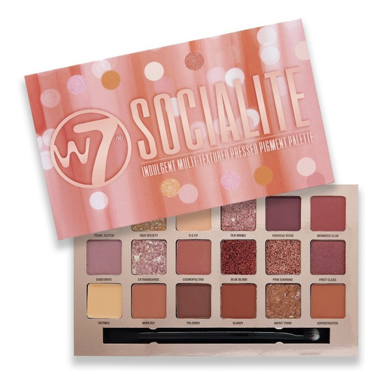 Sombras W7 Socialite - g a $3824