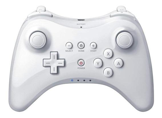 Controle joystick Nintendo Wii U Pro Controller branco