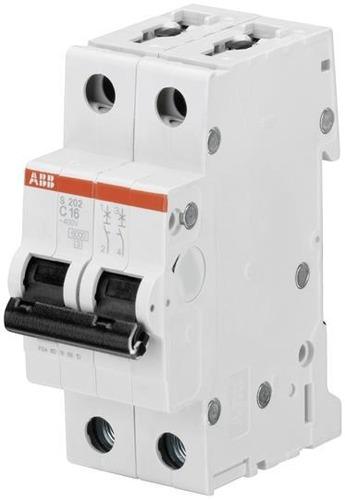 Abb 2cds252001r0164 Mini Interruptor S202-c16 16 Amps