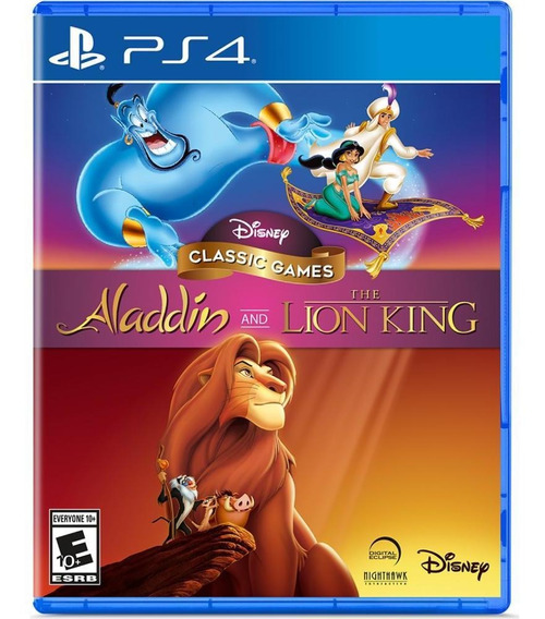Disney Classic Games: Aladdin And The Lion King Ps4 Novo