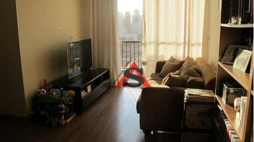 Apartamento Com 3 Dormitórios À Venda, 82 M² Por R$ 715.000,00 - Sumaré - São Paulo/sp - Ap39671