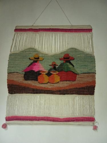 Telar Peruano 1,25 X 1,60 $2200 Otros Tamaños Gorros Varios