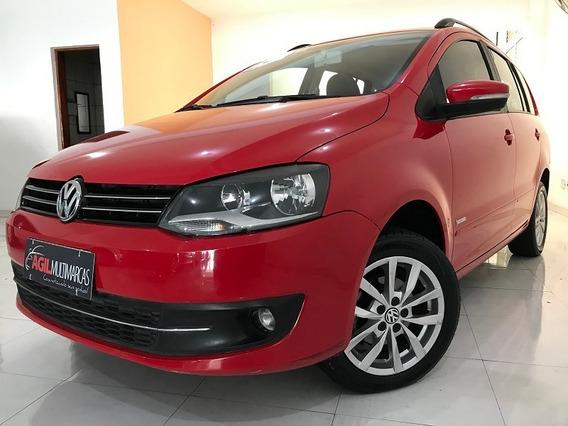 Volkswagen Spacefox 1.6 Trend Único Dono 2013 Vermelha
