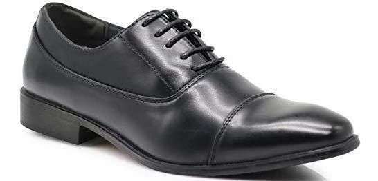 Enzo Romeo Lk01 Zapatillas Para Hombre Encaje Formal Diseño
