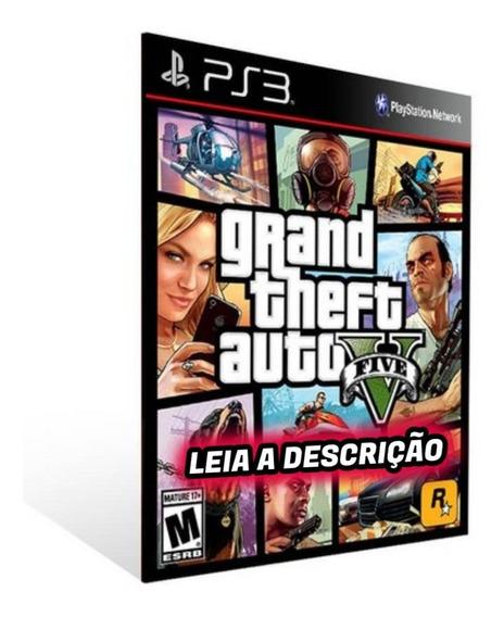 Grand Theft Auto V Ps3 Midia Digital + Brinde Envio Rapido