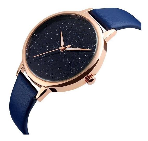 Reloj Skmei 9141 Mujer Dama Cuarzo 5 Colores + Estuche