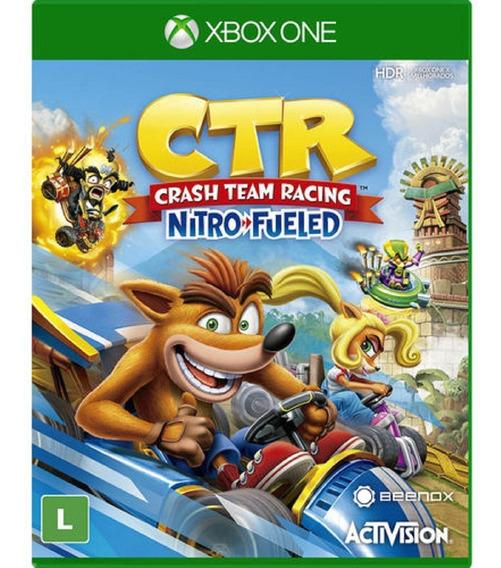 Crash Team Racing Xbox One Mídia Física Novo Original Ptbr