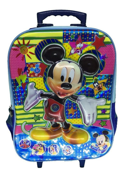 Mochila Mickey Mouse Rodinha