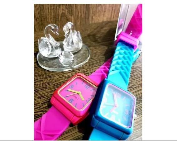 Relógio Feminino Silicone Colorido Promoção!!!!