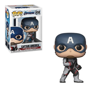 Funko Pop Capitan America #450 Avengers Endgame Regalosleon