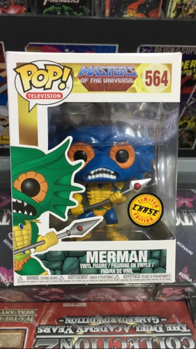 Funko Pop! Masters Of The Universe - Merman 564 - Chase