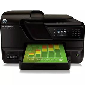 Impressora Hp8600 Pro + Bulk + Cartuchos Novos Em Recife.