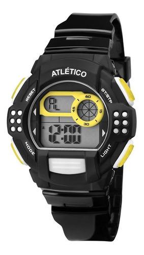Relógio Technos Dig Atletico Mineiro Cam13615a/8p Futebol