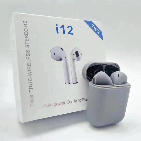 Cinza Novo I12tws Bluetoothfree Headset 5.0 Fone De Ouvido S