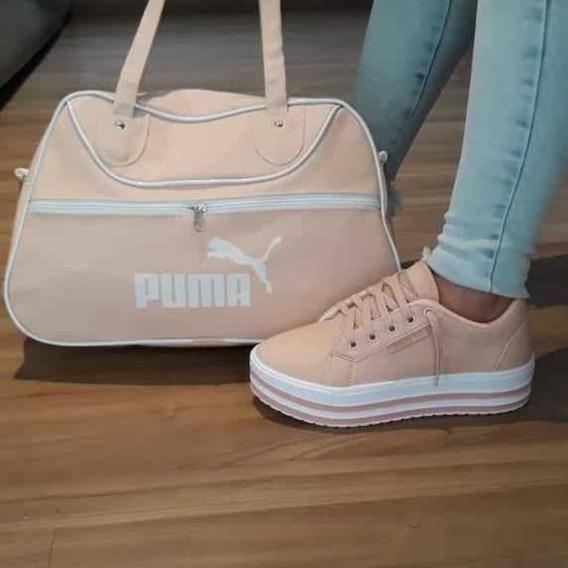 Tênis Puma + Bolsa