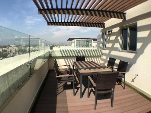 Penthouse En Renta Calz De Tlalpan 2971 Col El Reloj