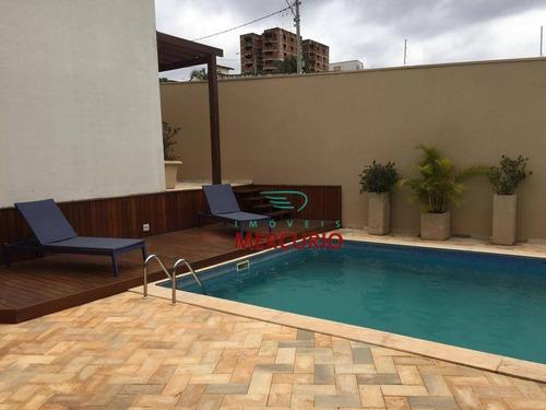 Imagem 1 de 30 de Casa Com 4 Dormitórios À Venda, 631 M² Por R$ 1.800.000,00 - Jardim Estoril Iii - Bauru/sp - Ca2769