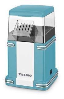 Pochoclera Yelmo 1200w - Listo En 4´ - Coccion Aire Caliente