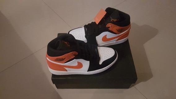 Tenis Nike Air Jordan 1 Mid Shattered Size 38