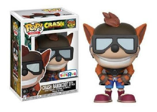 Crash Bandicoot Jet Pack 274 Excl Pop Funko