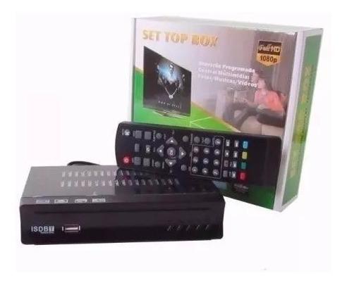 Conversor Digital Tv Antiga Tubo Receptor Tv - Gravador