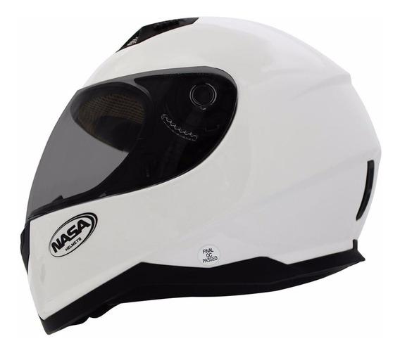 Capacete Nasa Sh 881 Branco - Consulte Tamanhos Branco