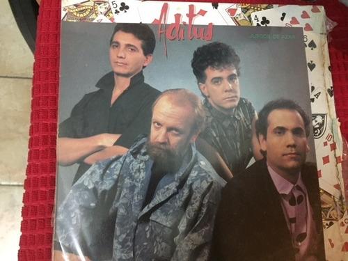 Lp. Aditus. Juego De Azar.como Nuevo. 1985. Rock Nacional