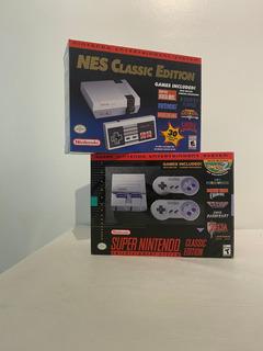 Super Nintendo Y Nes Classic Edition -promoción Combo Cuotas