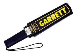 Detector De Metales Garrett Super Scanner Policia Seguridad