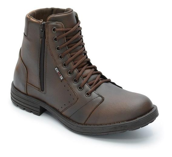 Bota Masculina Sapato Coturno Casual Ref:350