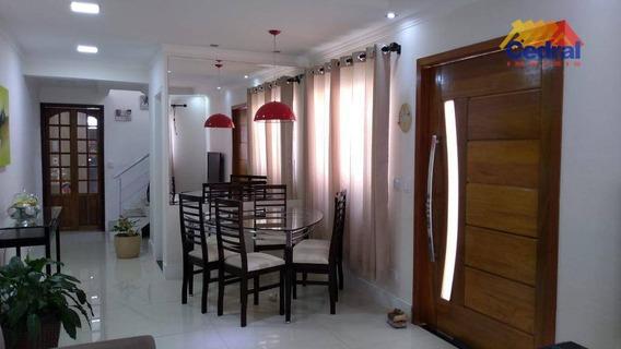 Casa Com 3 Dormitórios À Venda, 96 M² Por R$ 424.000,00 - Mogi Moderno - Mogi Das Cruzes/sp - Ca0690