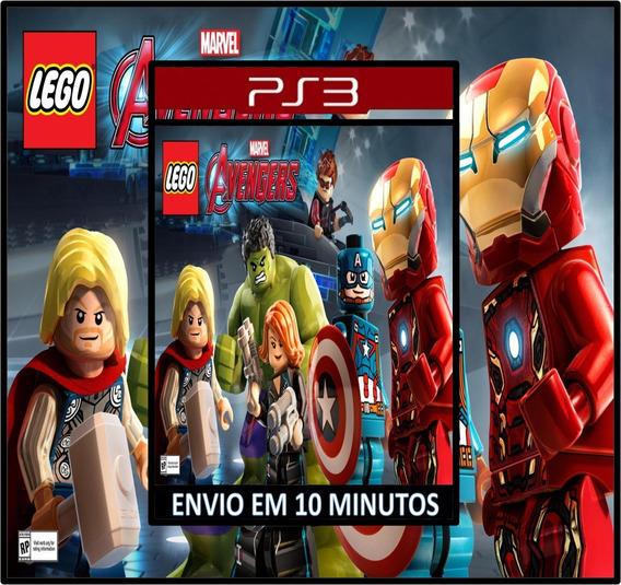 Lego Marvels Avengers Ps3 Psn Dublado Português Br Promoção