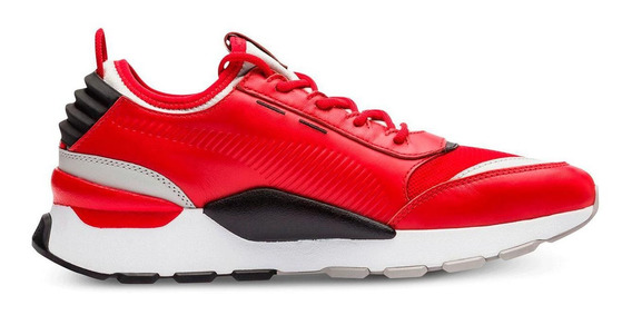 Tenis Hombre Puma Rs-0 Sound Play Casual Color Rojo