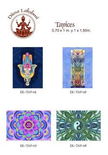 Tapiz Mandalas Fatima India 1mt.x 1,50 Cm.-exclusivos