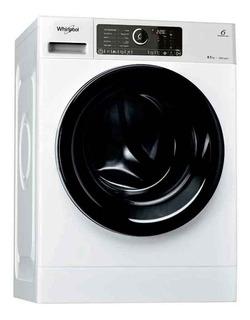 Lavarropas Carga Frontal Inverter Whirlpool 8.5kg 1400 Rpm Wlcf85baar