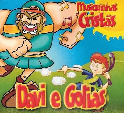 Cd Misiquinhas Cristãs - Davi E Golias