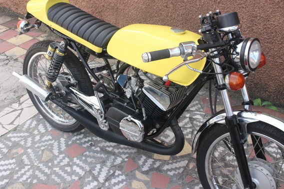 Rx 125 2t Café Racer - 1981 - Alcool -vendo Ou Troco