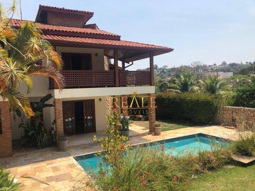Casa À Venda, 411 M² Por R$ 2.500.000,00 - Condomínio Estância Marambaia - Vinhedo/sp - Ca1370