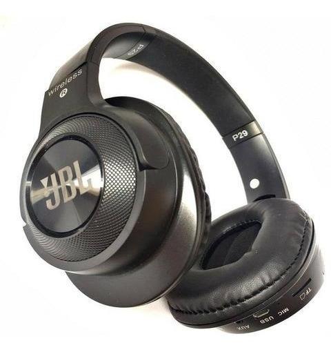 Fones De Ouvidos Jbl P29 Sem Fio Supra-auriculares