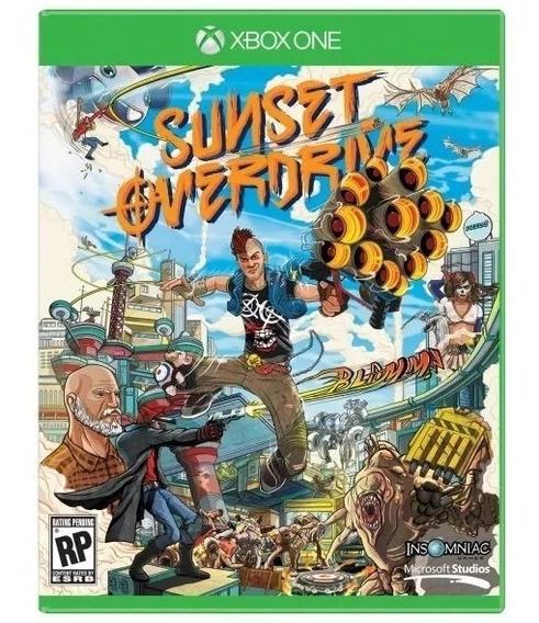 Sunset Overdrive Original Para Xbox One Midia Fisica