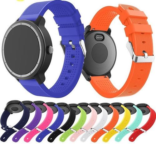 Correa Banda De Colores Para Garmin Vivoactive 3 Music