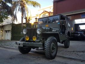 Jeep Willys Año 1947 4x4 De Coleccion, Listo Para Usar!!