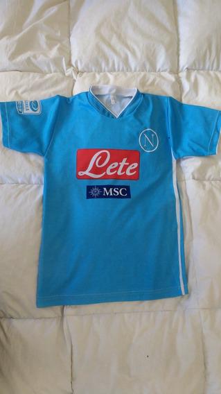 Camiseta De Futbol Importada Napoli Higuaín De Niño Talle 14